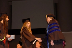 My college graduation in 2005